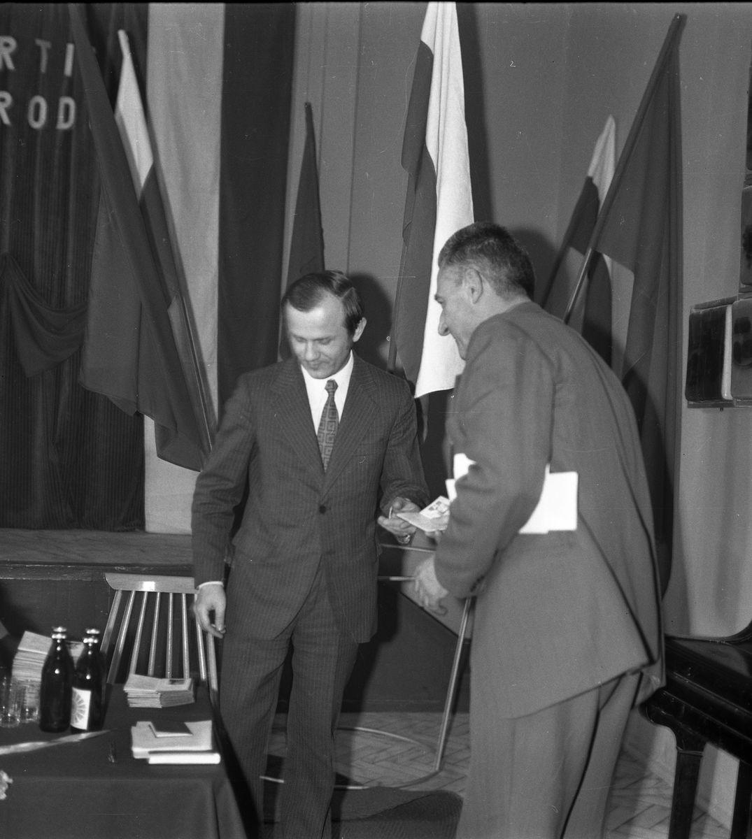 Zebranie partyjne PZPR w Zakładach Rybnych, 1975 r. [6]