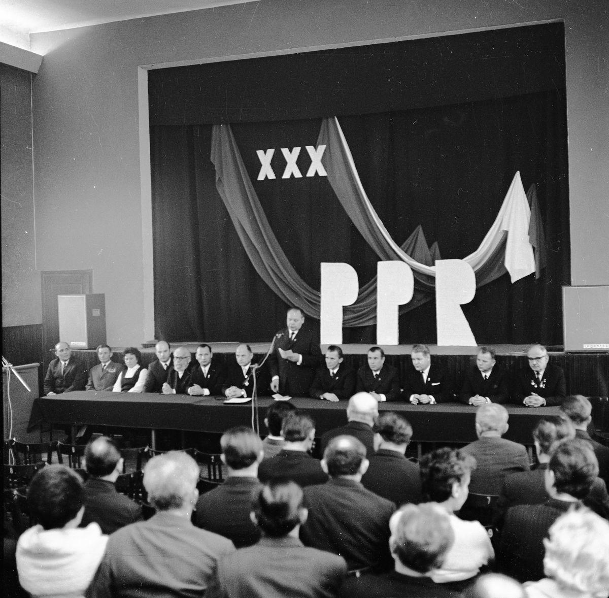 30-lecie Polskiej Partii Robotniczej, 1972 r.