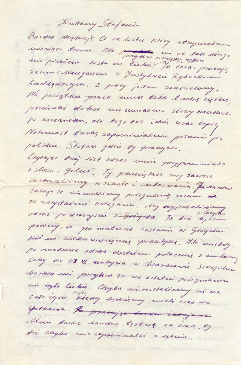 List  Tian Sam - Gyna do Stefana Lempieckiego [1]