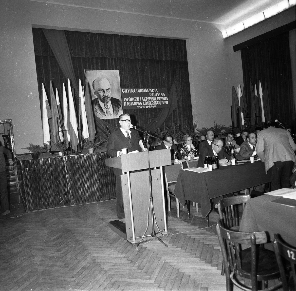 Konferencja sprawozdawczo-wyborcza PZPR, 1977 r.