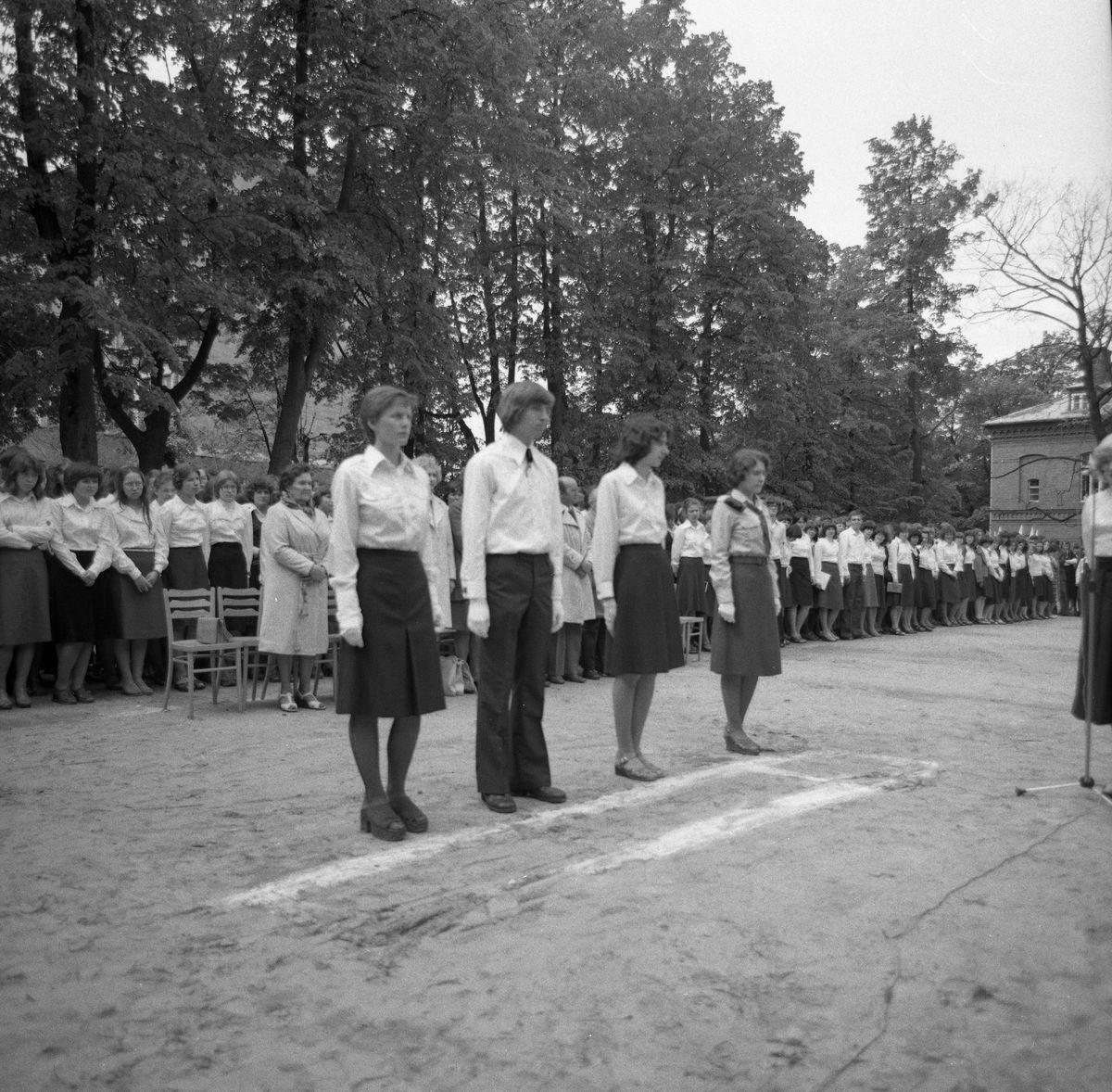 Święto szkoły, 1977 r.