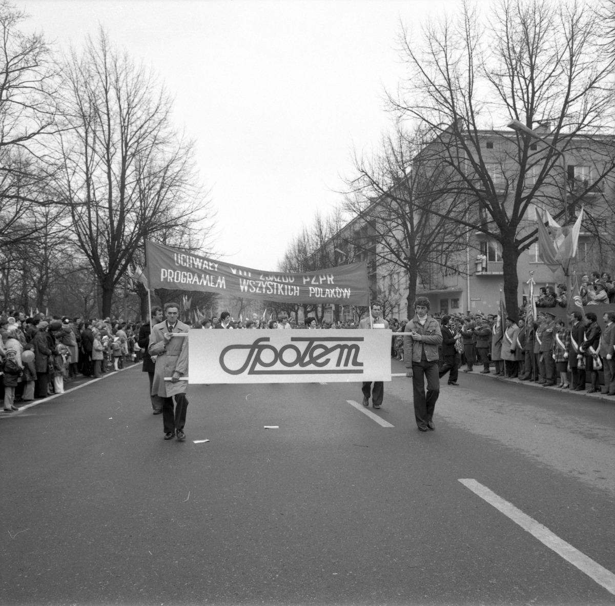 Pochód pierwszomajowy, 1980 r. [7]