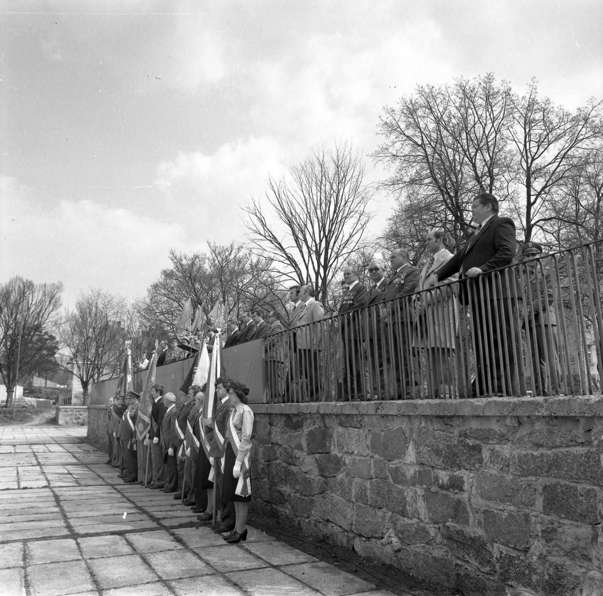 Uroczystość odsłonięcia pomnika żołnierzy radzieckich [9]