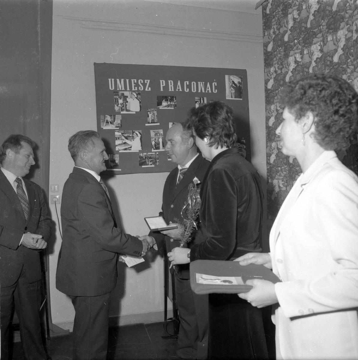 Spotkanie jubileuszowe w Mleczarni, 1985 r. [4]