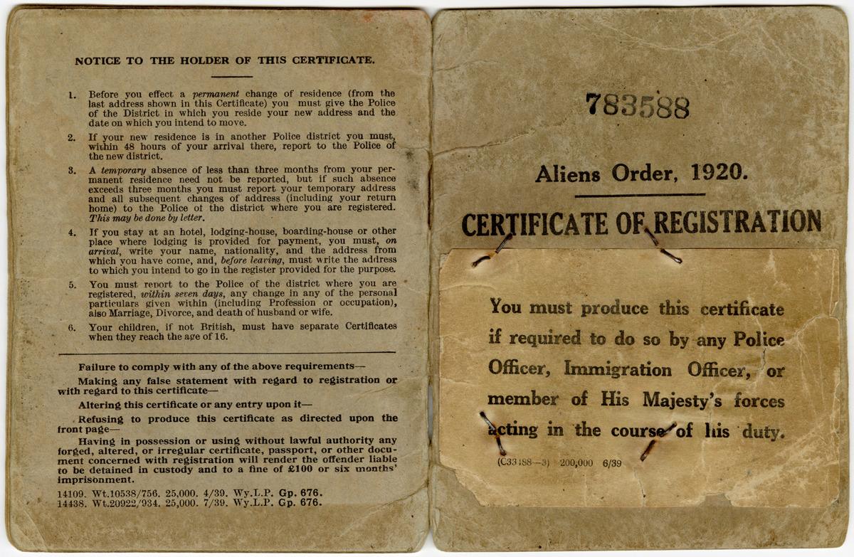 Dokument tożsamości cudzoziemca