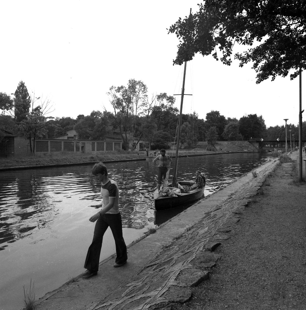 Przeprawa przez kanał Łuczański