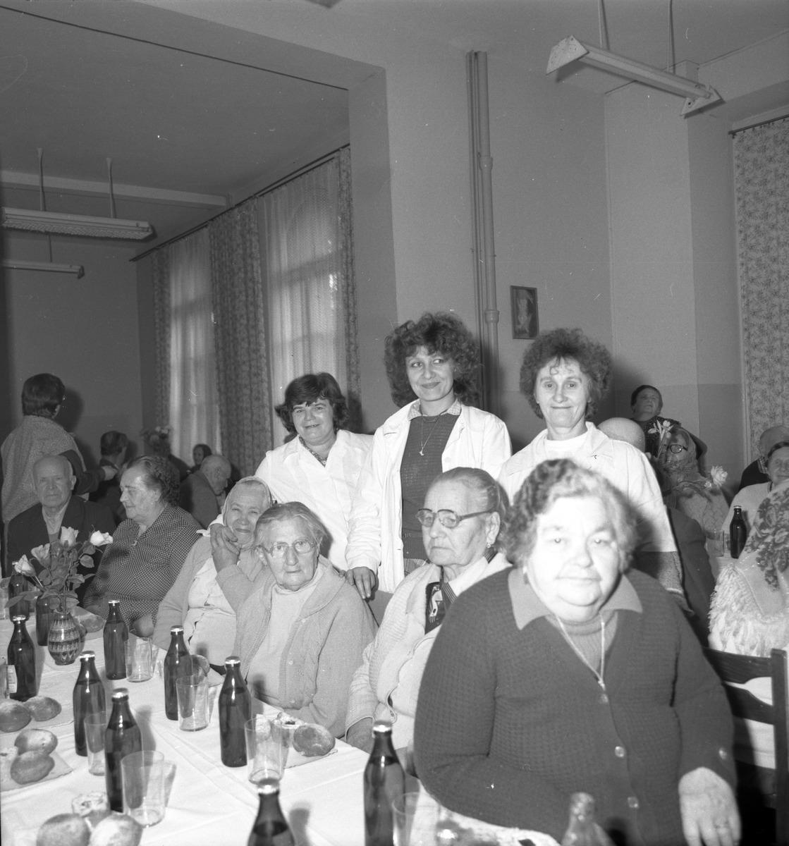 Dzień Seniora w DPS, 1985 r.