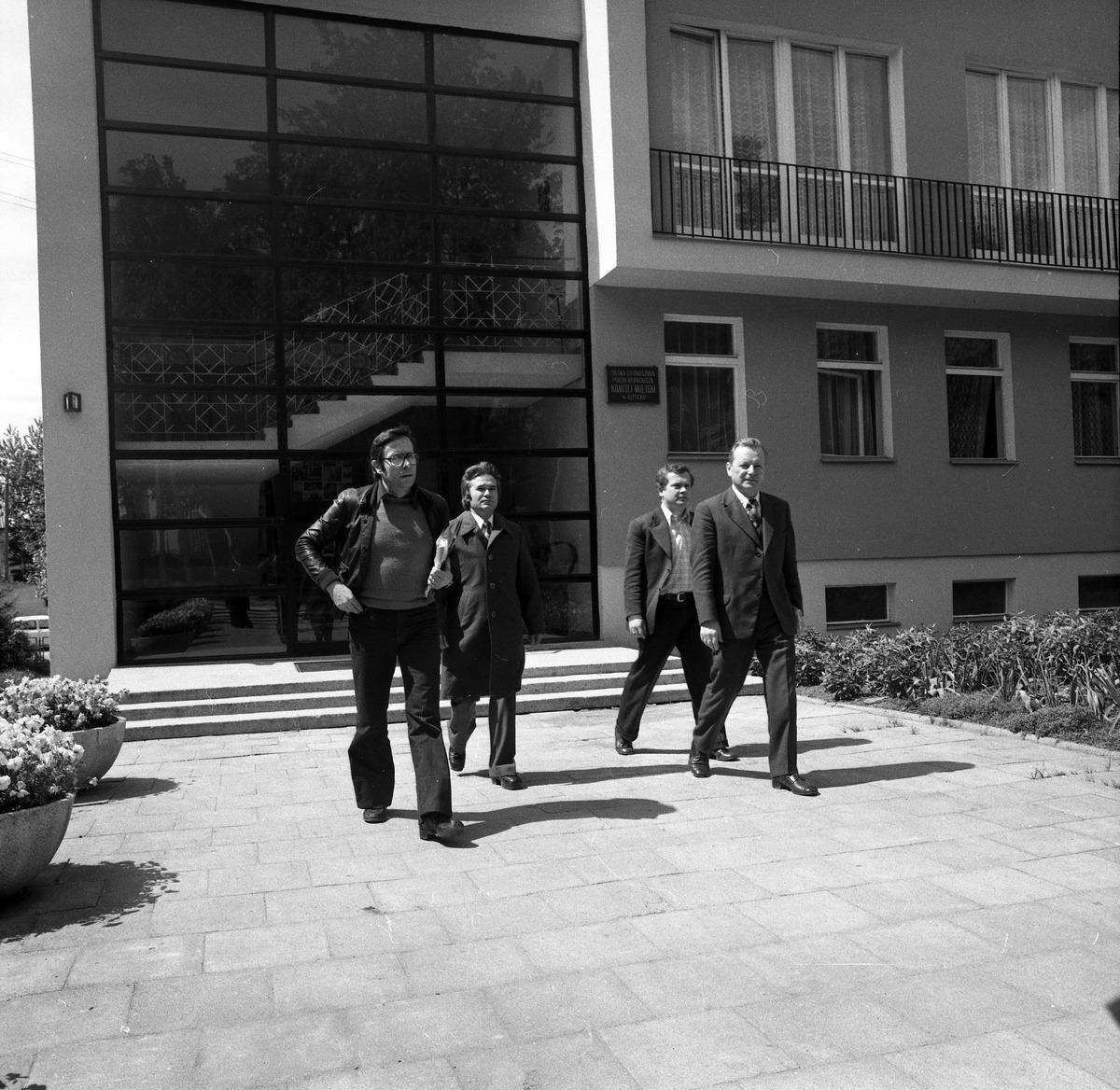Wizyta delegacji włoskiej, 1977 r.