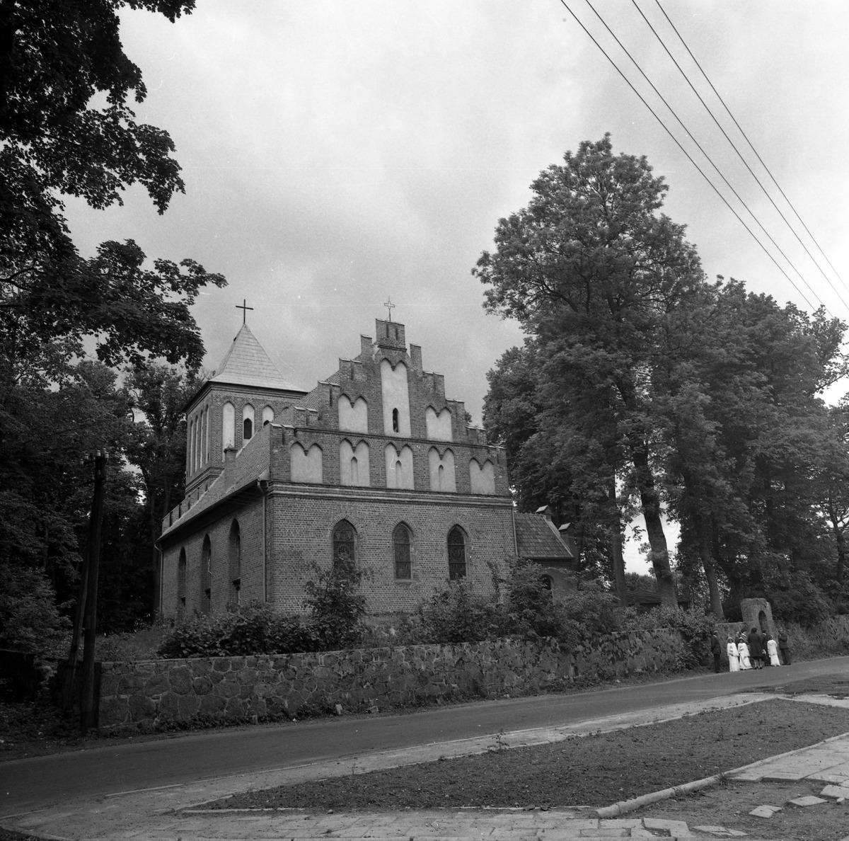 Kościół w Kutach, 1978 r.