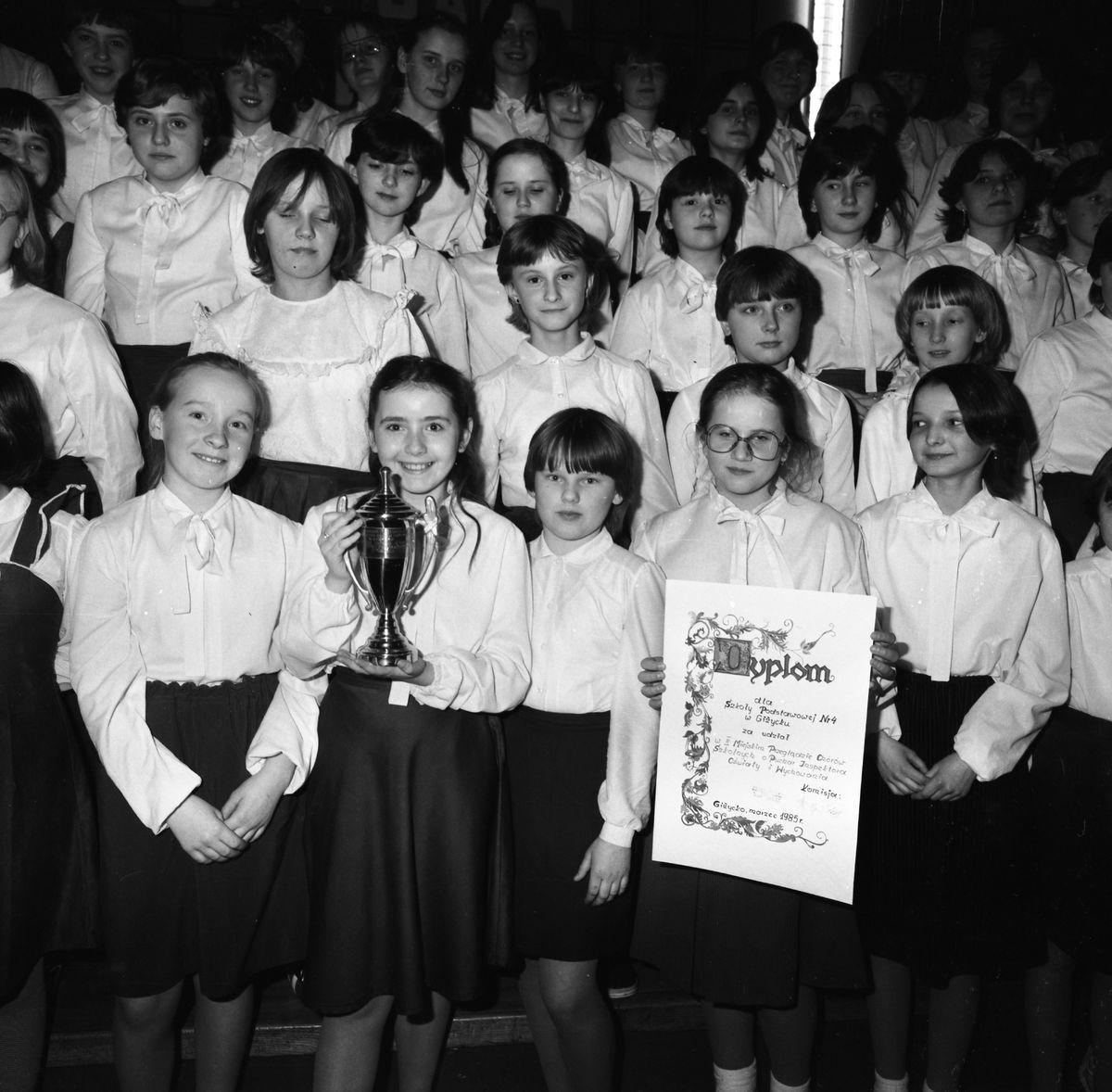II Przegląd Chórów Szkolnych, 1985 r.
