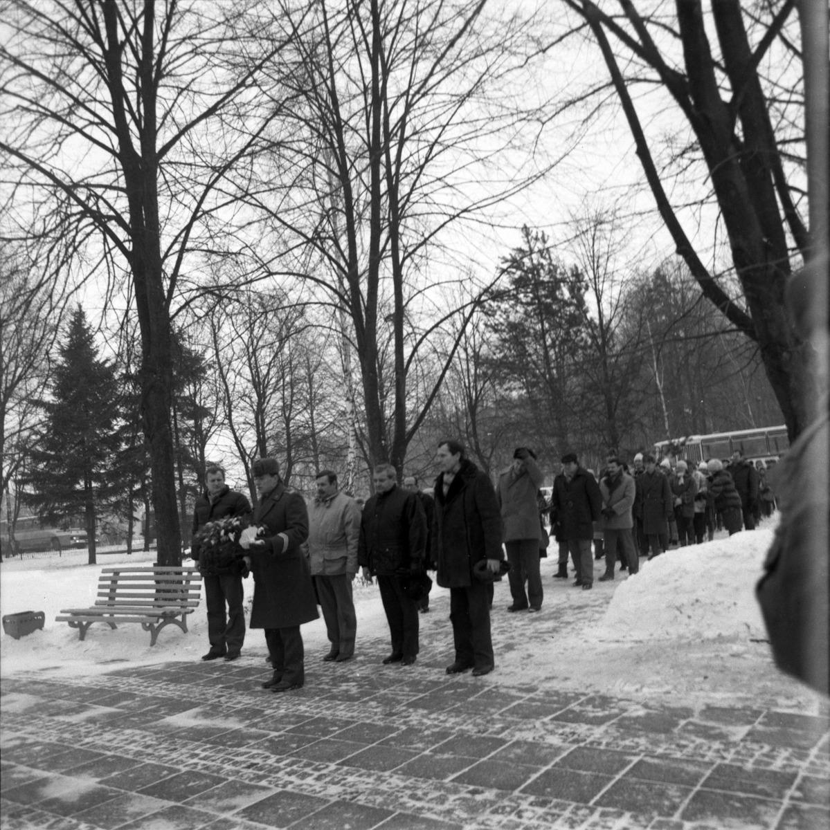 Uroczystość na cmentarzu żołnierzy radzieckich [2]