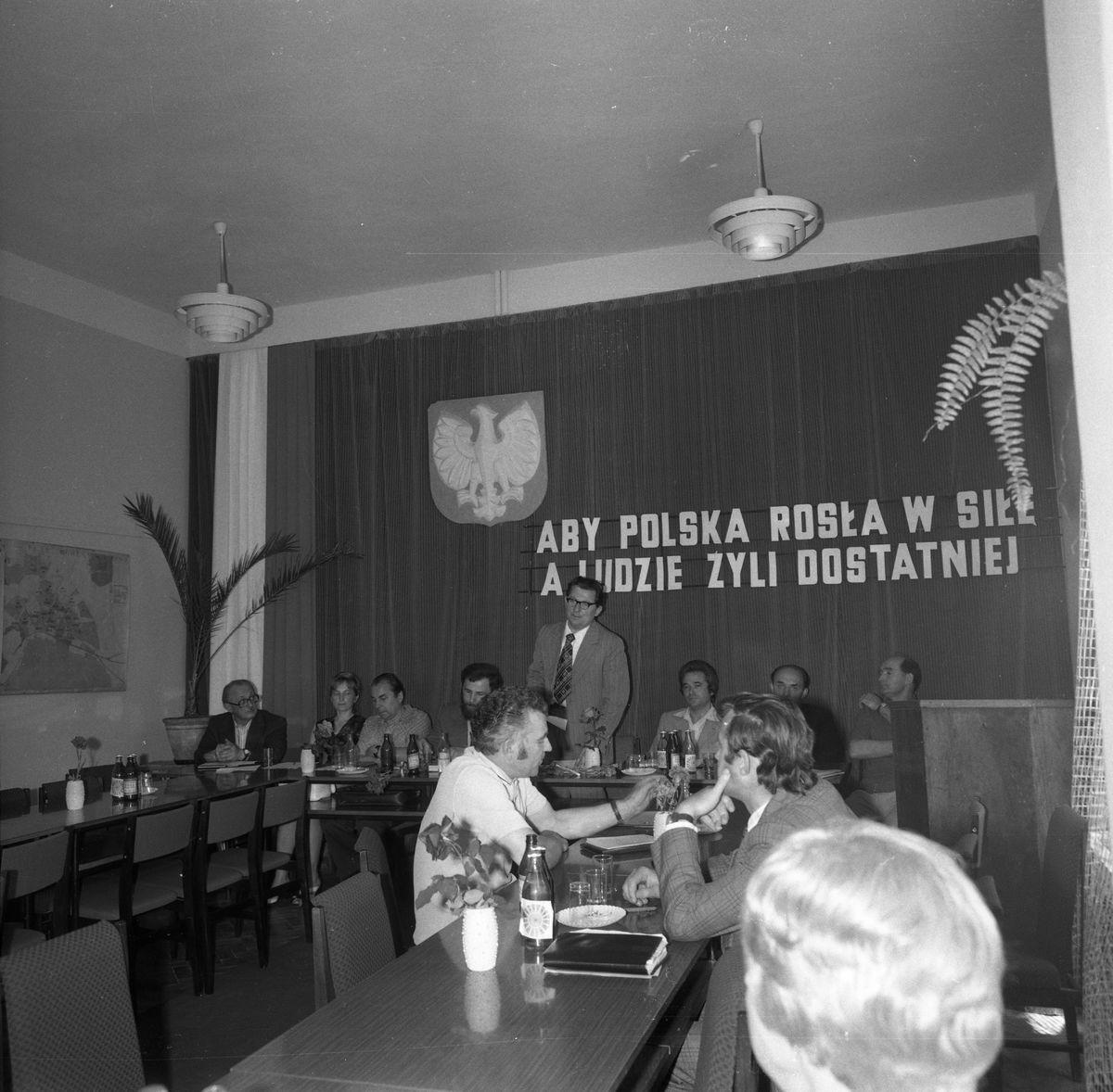 Uroczysta Sesja Miejskiej Rady Narodowej, 1975 r. [4]