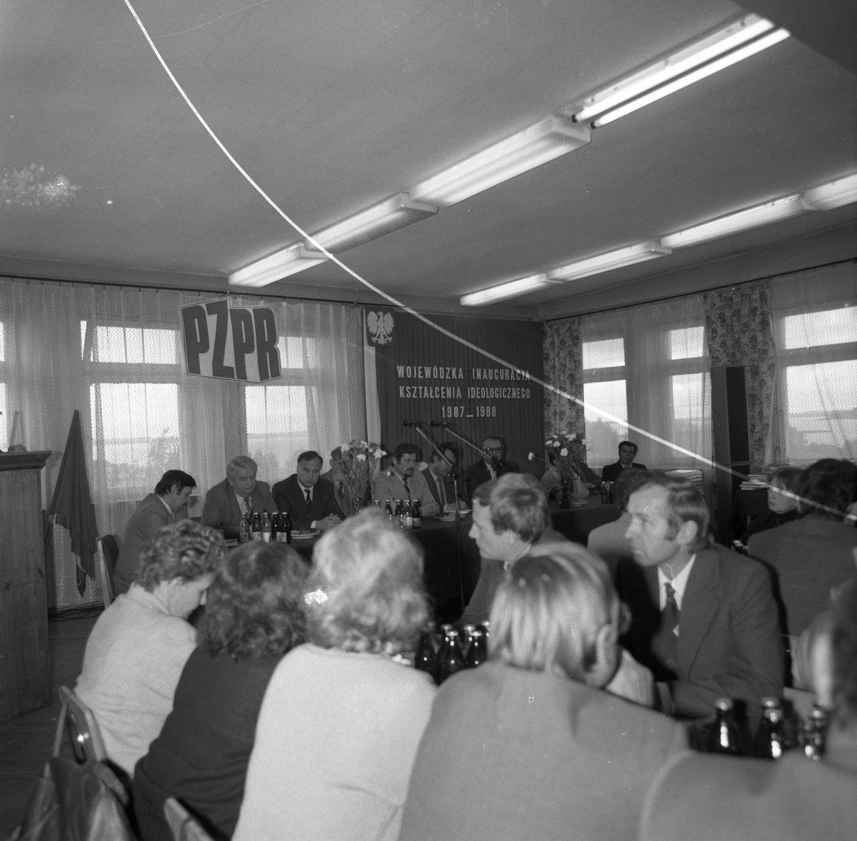 Wojewódzka Inauguracja Kształcenia Ideologicznego, 1987 r. [6]
