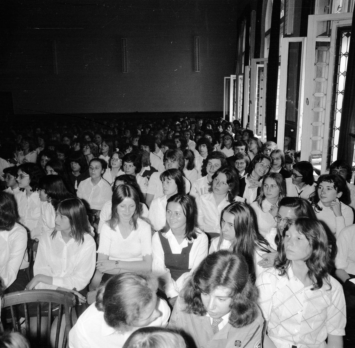 Zakończenie roku szkolnego 1974/1975 w LO