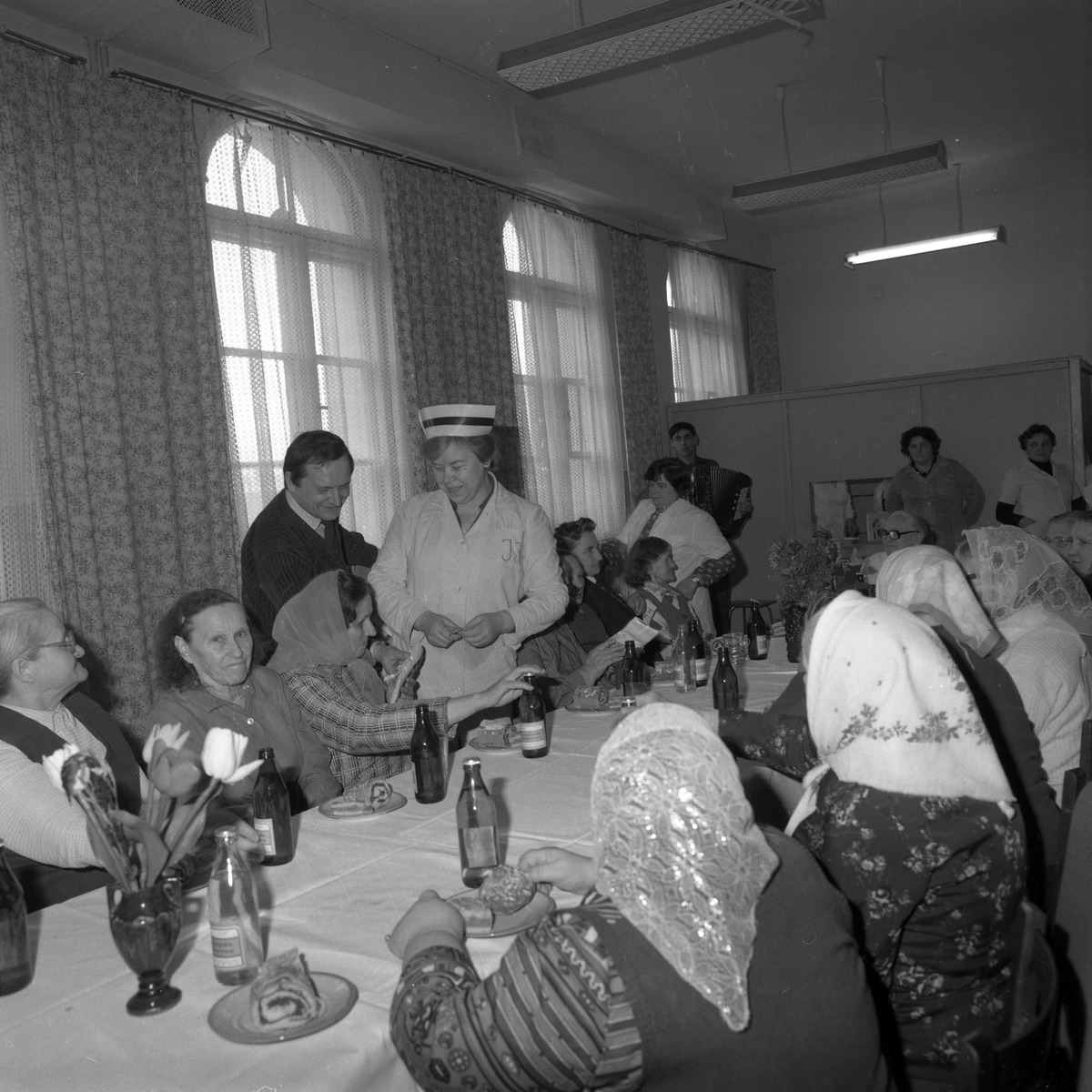 Uroczystość w DPS w Giżycku, 1984 r. [4]