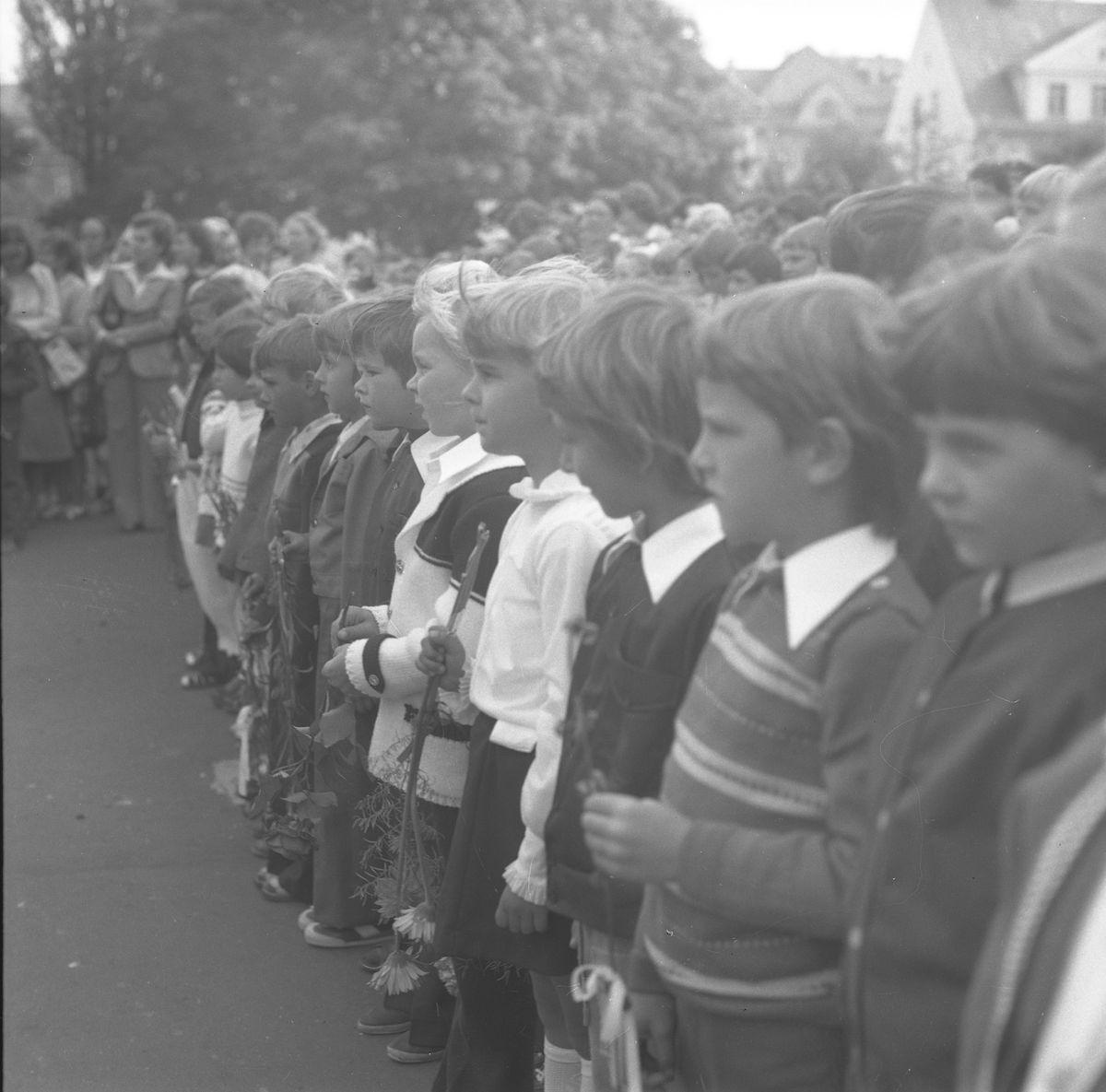 Rozpoczęcie roku szkolnego 1977/1978 [1]