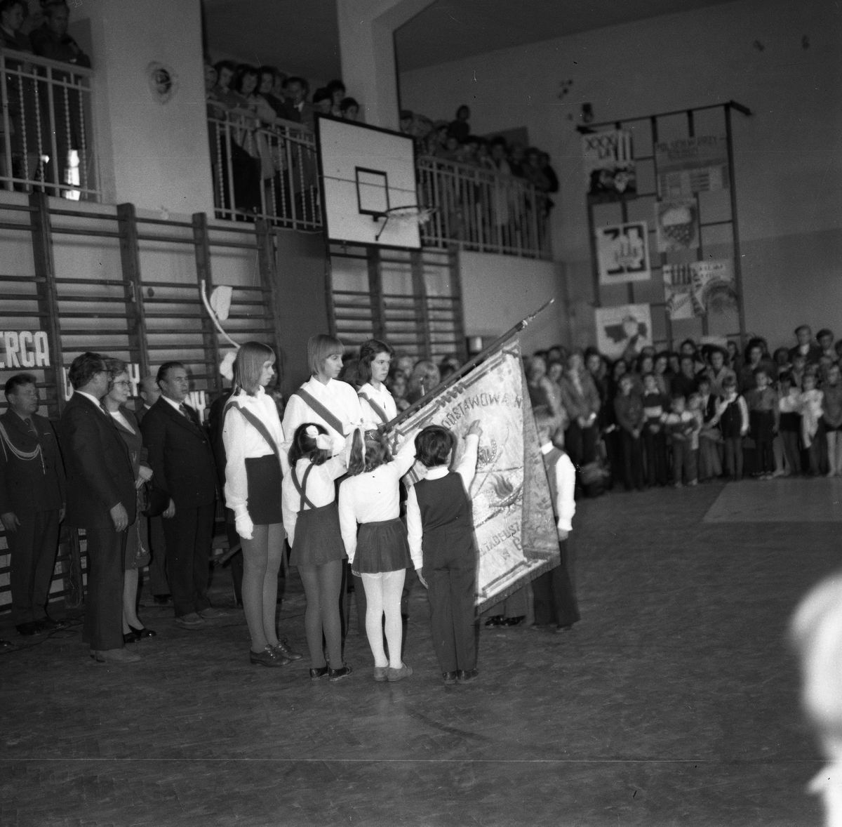 Święto szkoły, 1974 r.