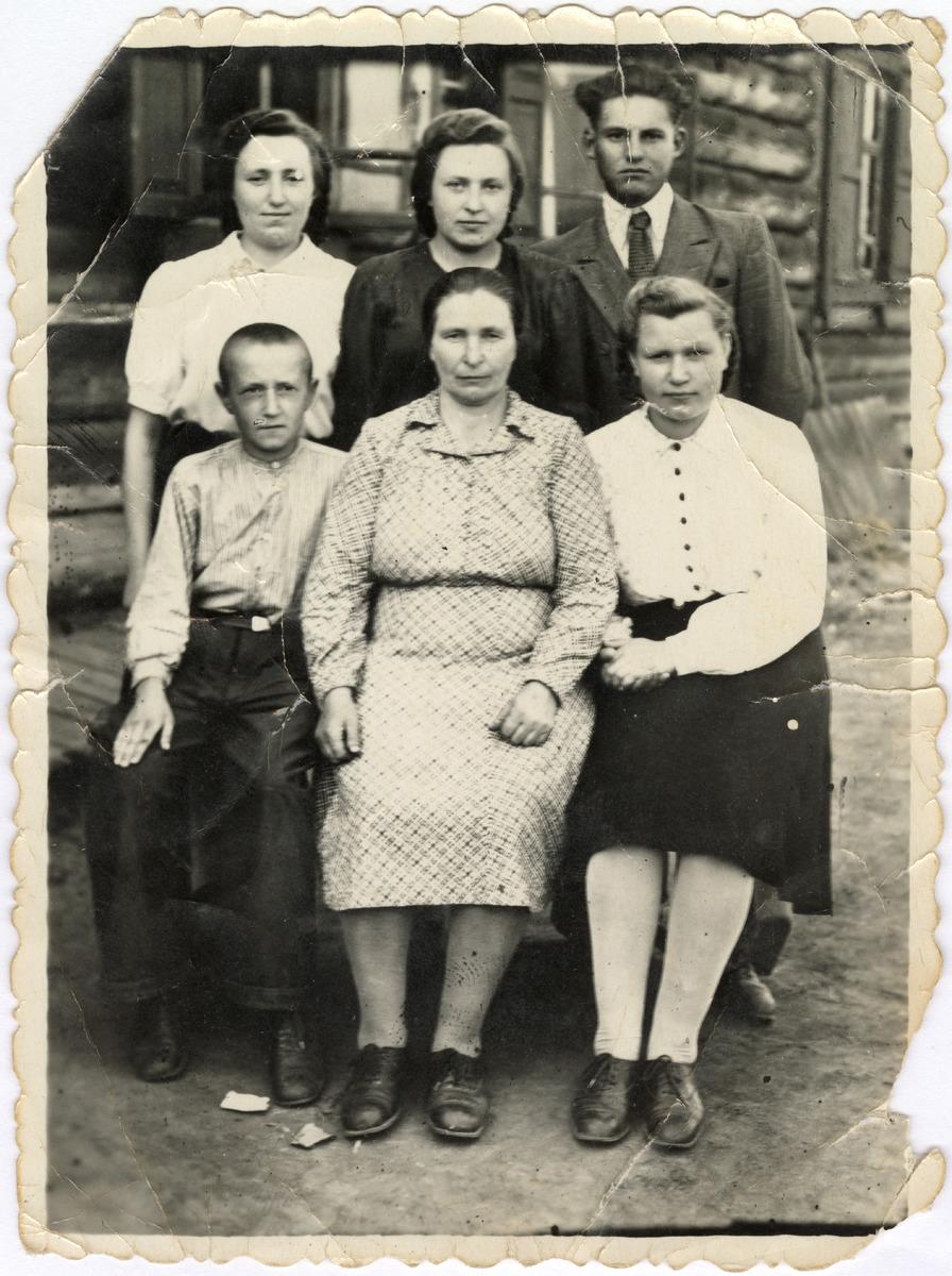 Rodzina Panasików i Naumowiczów na Syberii [1]