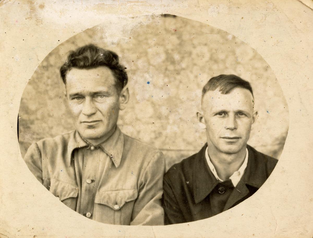 Witold Suchocki z kolegą