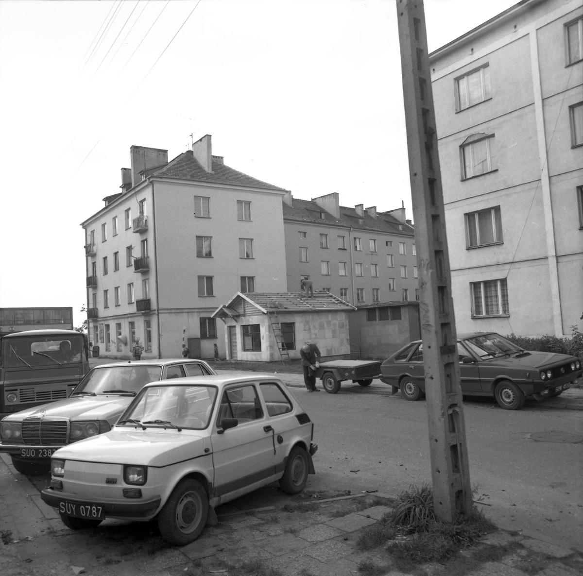 Budowa pawilonu handlowego przy ul. Kętrzyńskiego