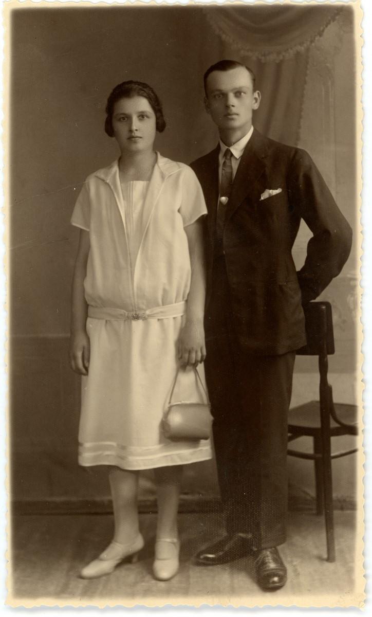 Janina i Józef Klimiukowie