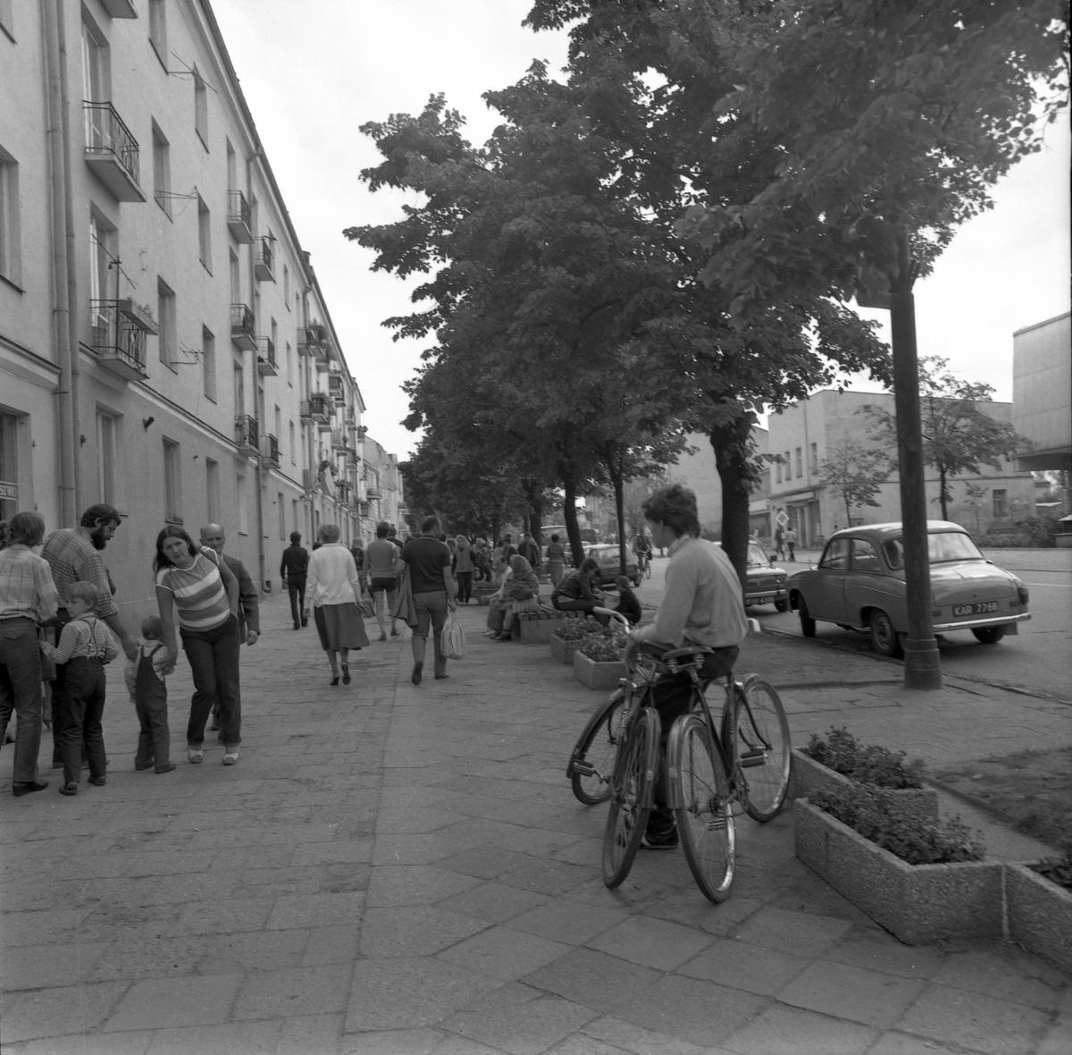 Zabudowa przy ul. Warszawskiej