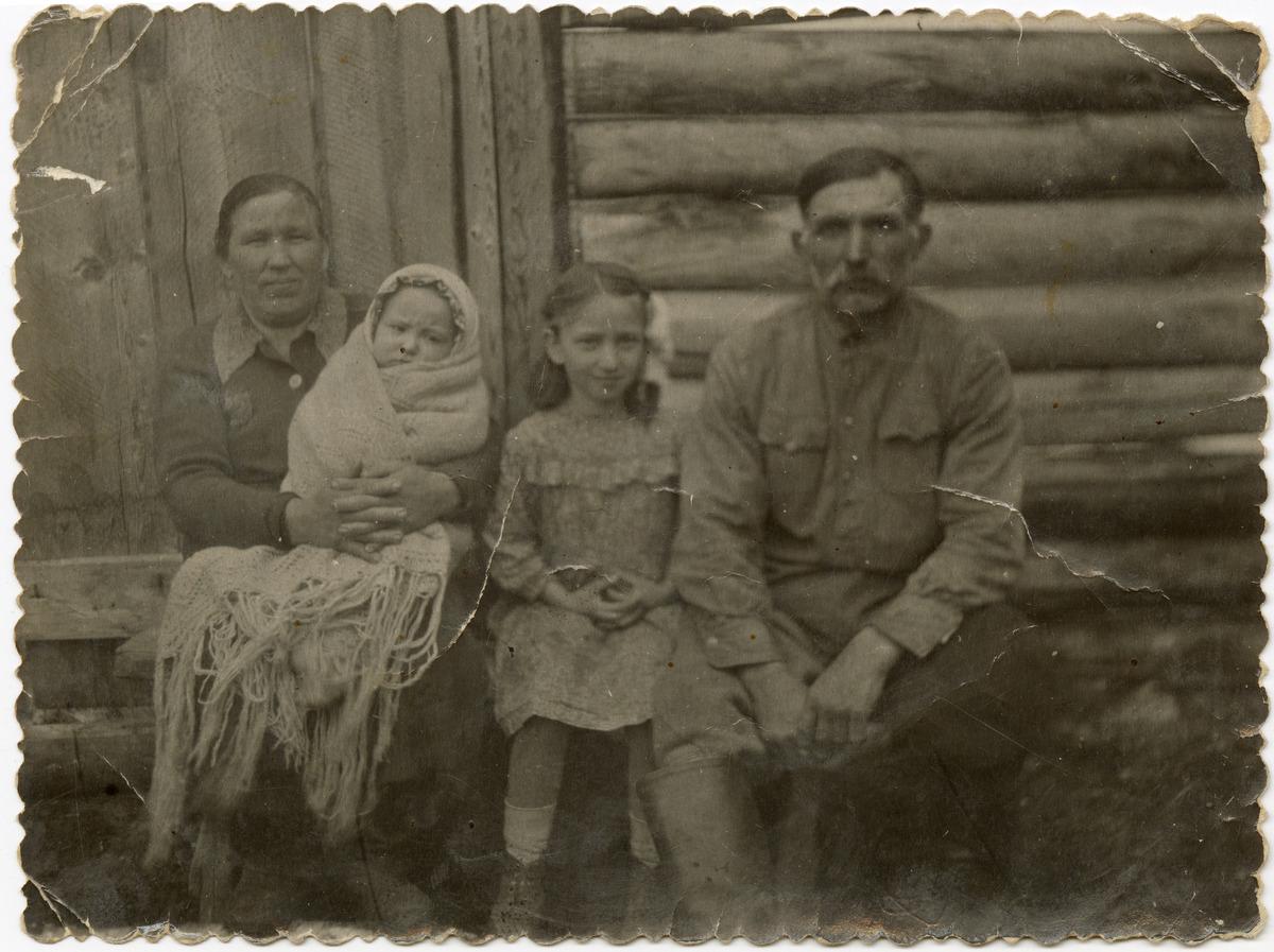Rodzina Skrobotów na Syberii