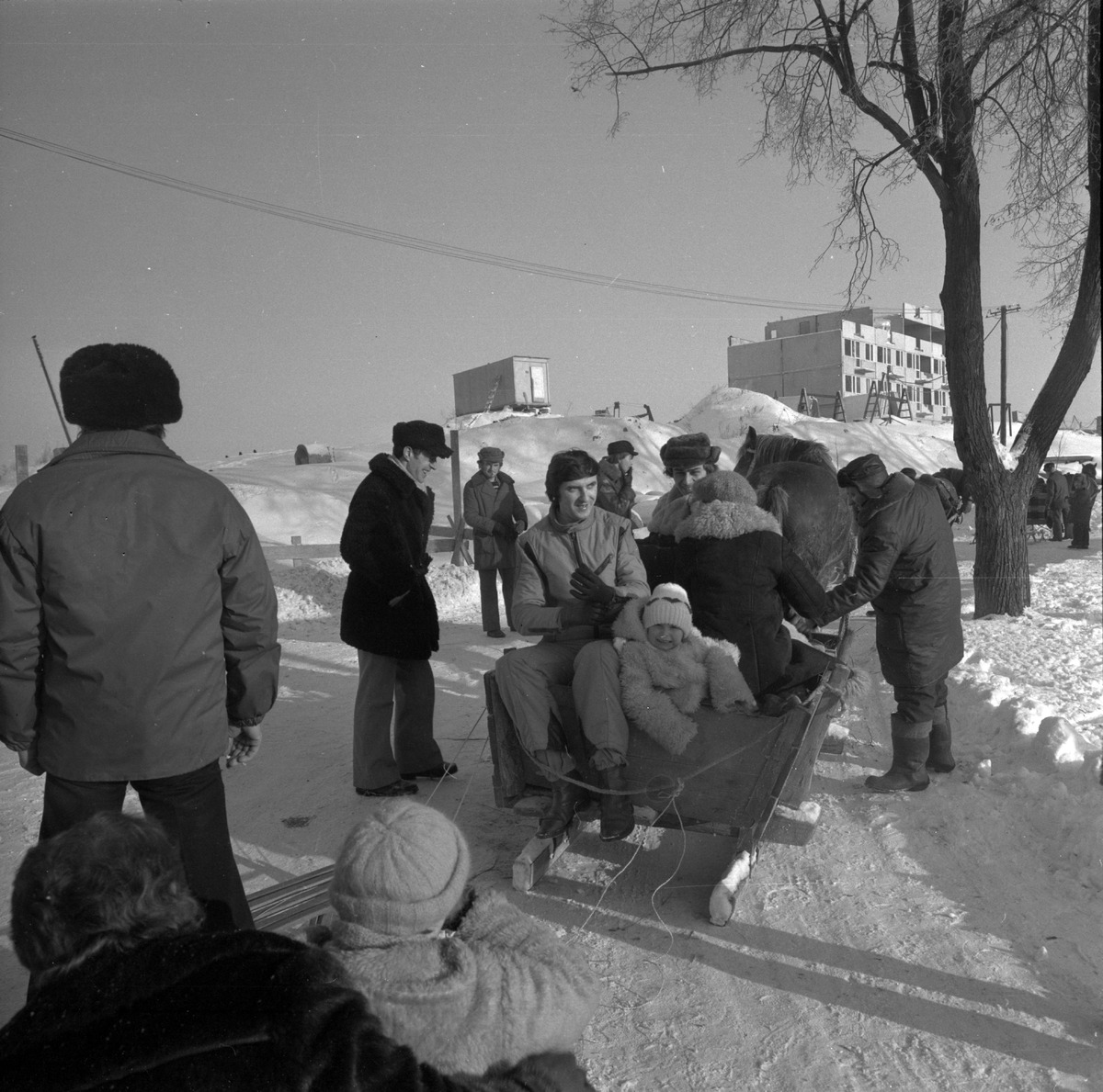 """Kulig pracowników MSI """"ZGODA"""", 1979 r. [9]"""