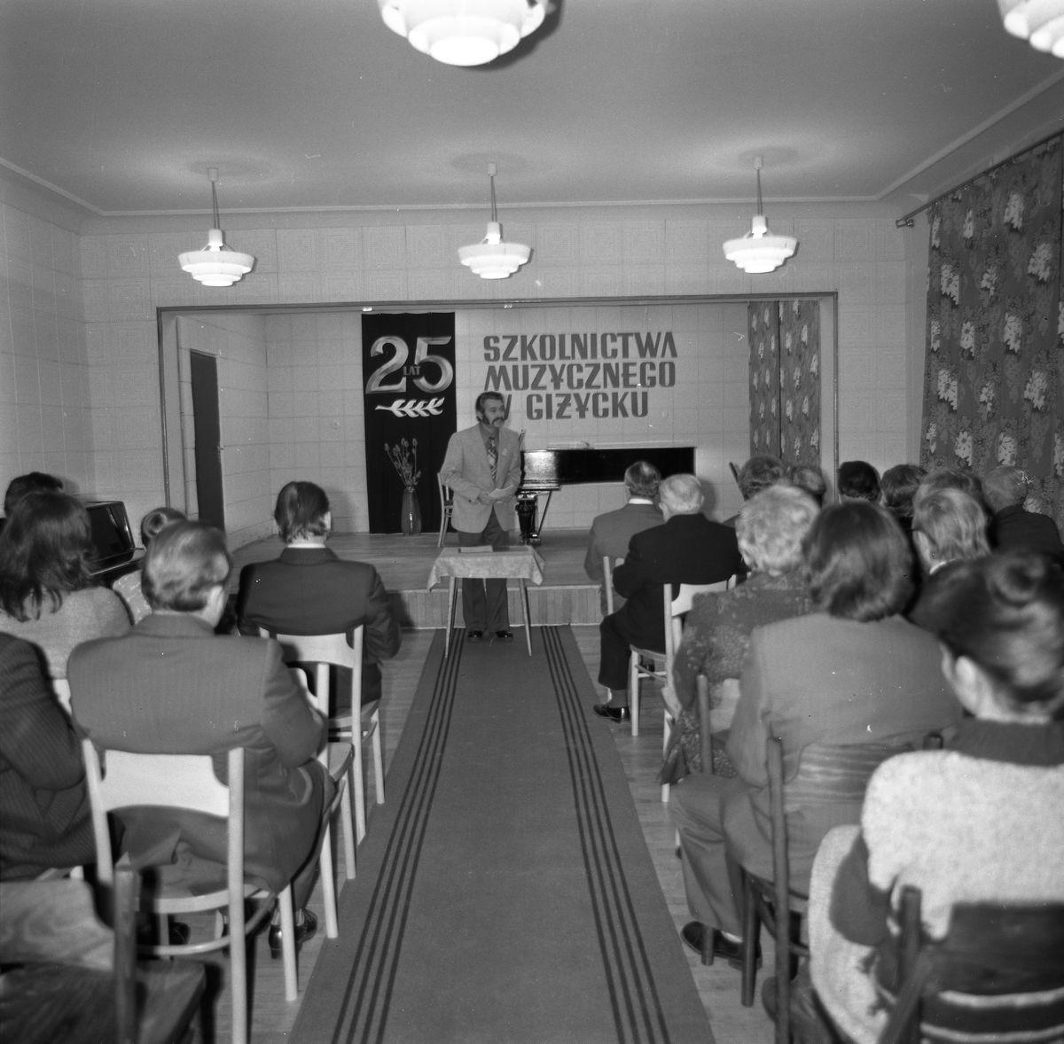 25-lecie szkoły muzycznej, 1976 r.