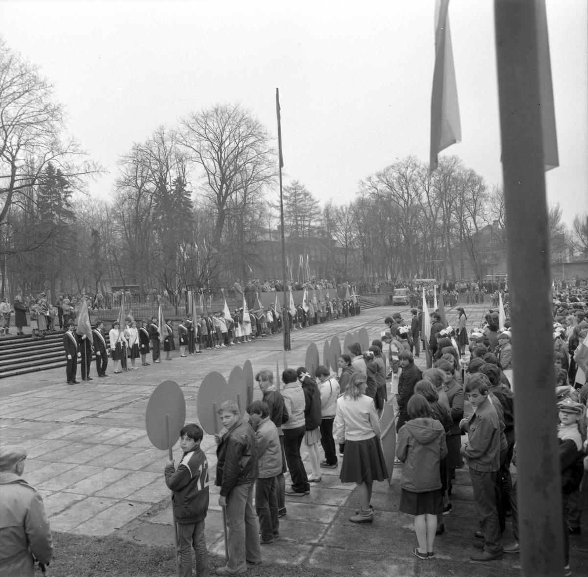 Pochód pierwszomajowy, 1985 r. [9]