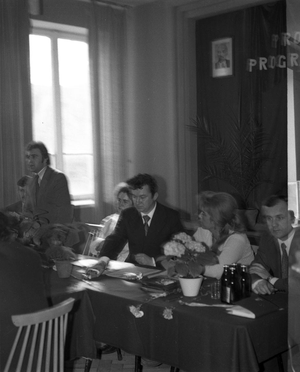 Zebranie partyjne PZPR w Zakładach Rybnych, 1975 r. [2]