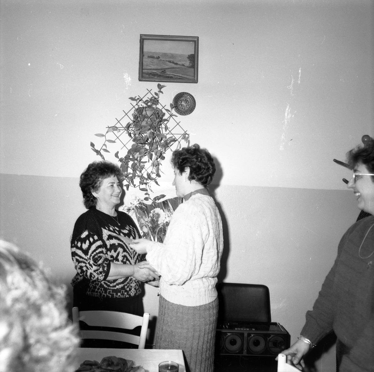 Uroczystość w DPS w Giżycku, 1991 r. [1]