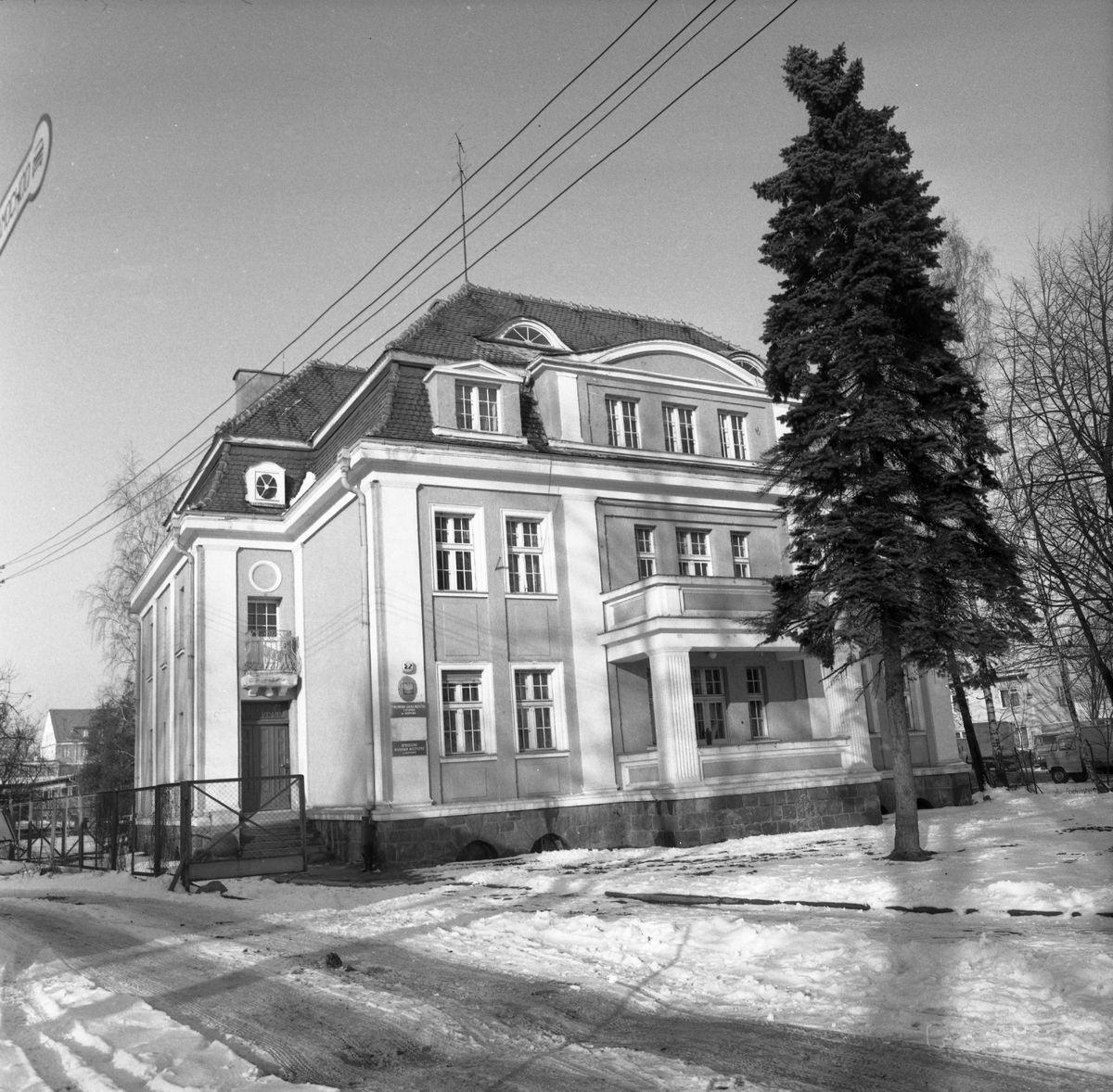Budynek Szkoły Muzycznej, 1978 r.