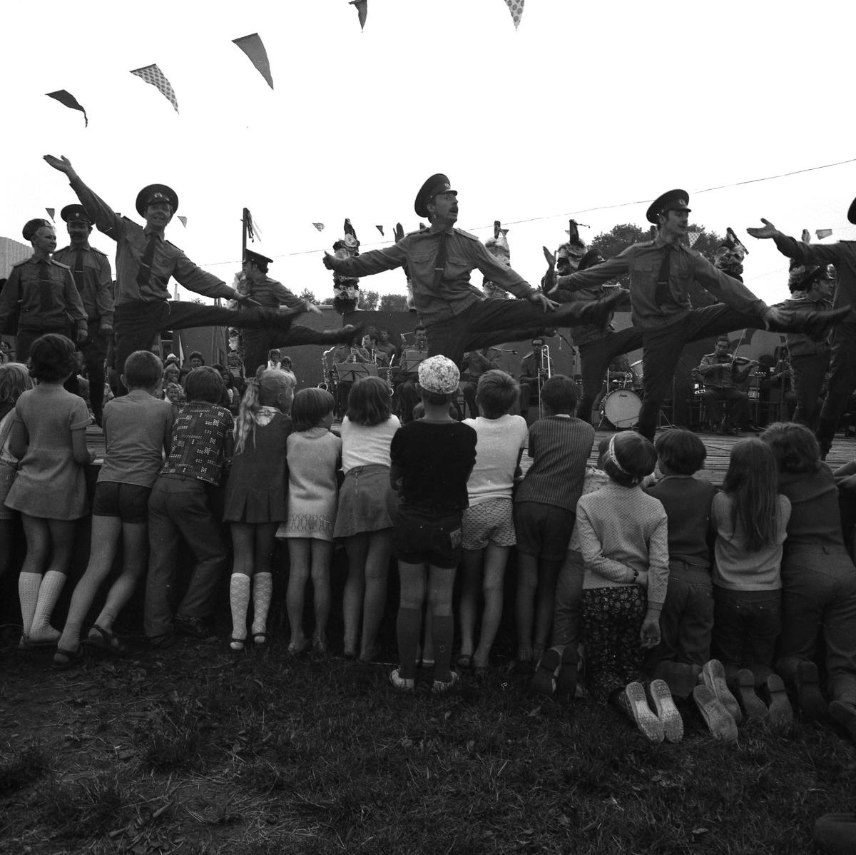 Zespół Pieśni i Tańca Armii Radzieckiej, 1977 r.