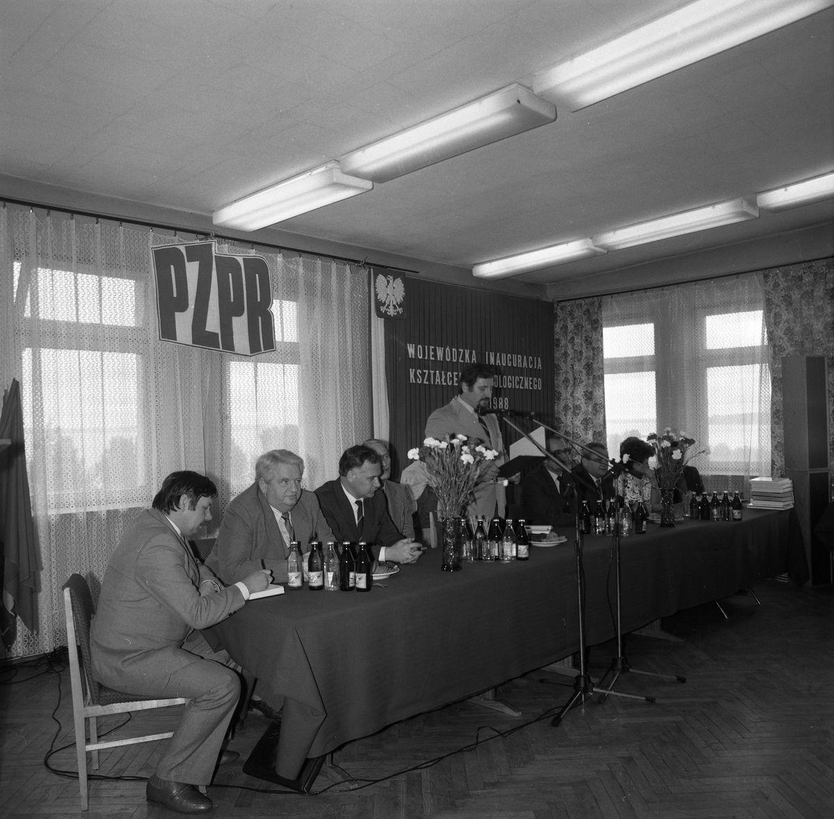 Wojewódzka Inauguracja Kształcenia Ideologicznego, 1987 r. [2]