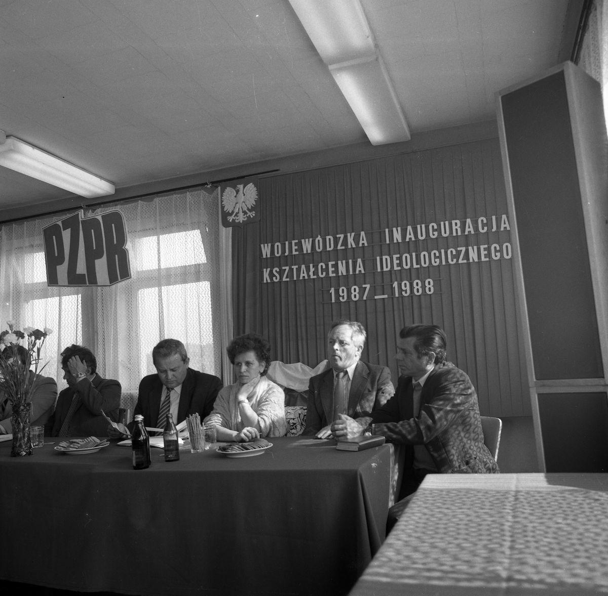 Wojewódzka Inauguracja Kształcenia Ideologicznego, 1987 r.