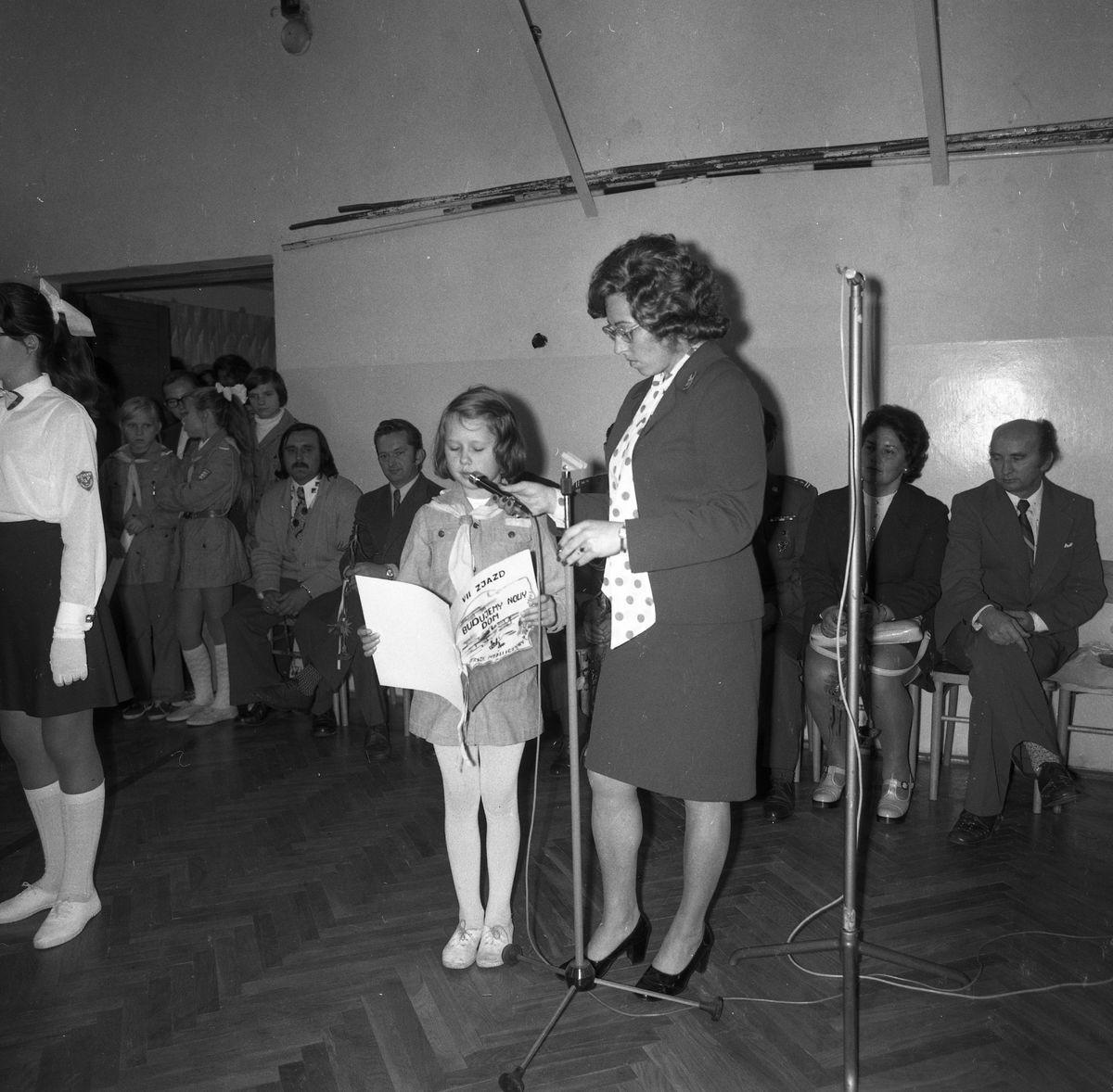 Święto Szkoły Podstawowej nr 4, 1975 r.