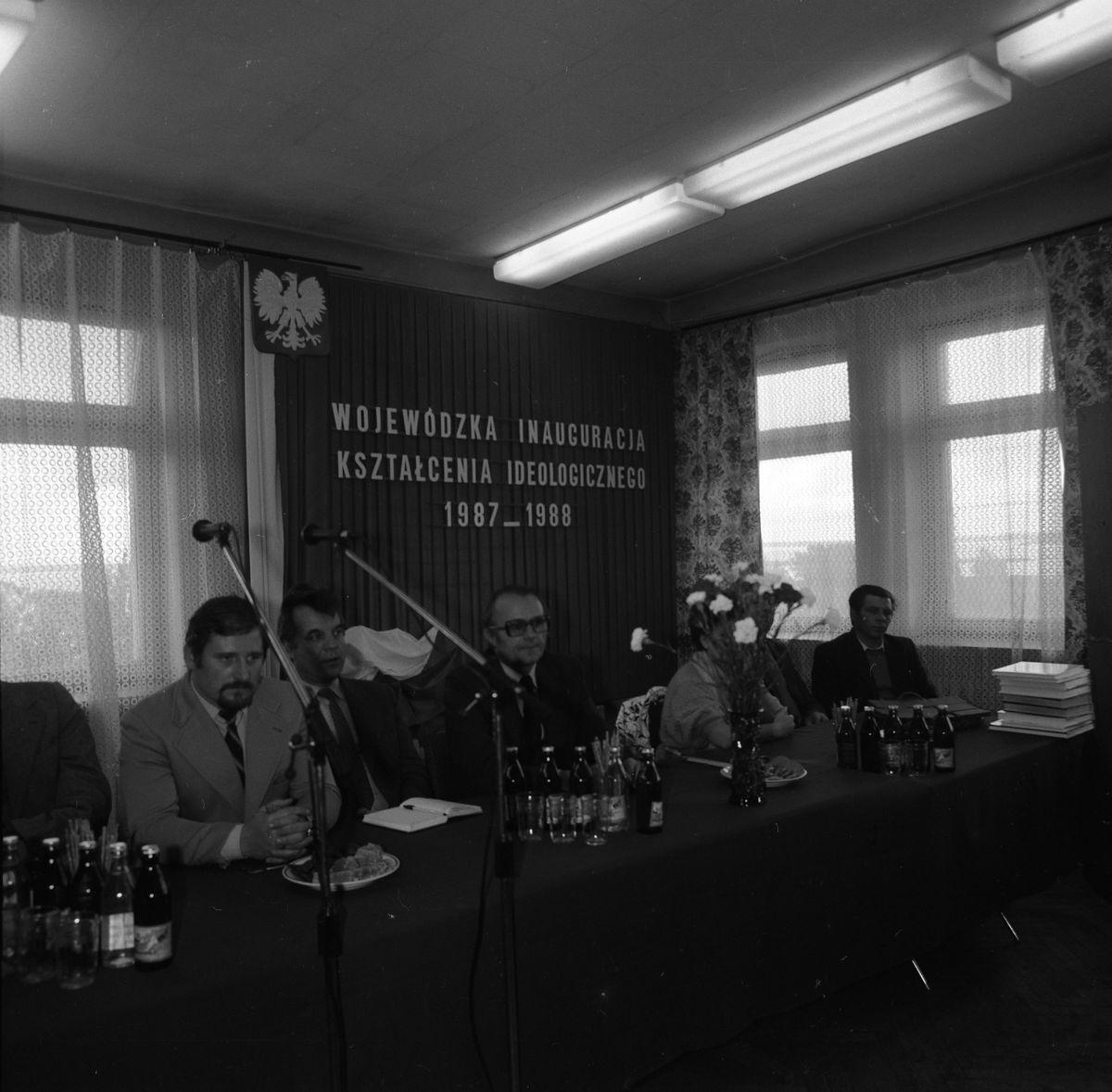 Wojewódzka Inauguracja Kształcenia Ideologicznego, 1987 r. [8]