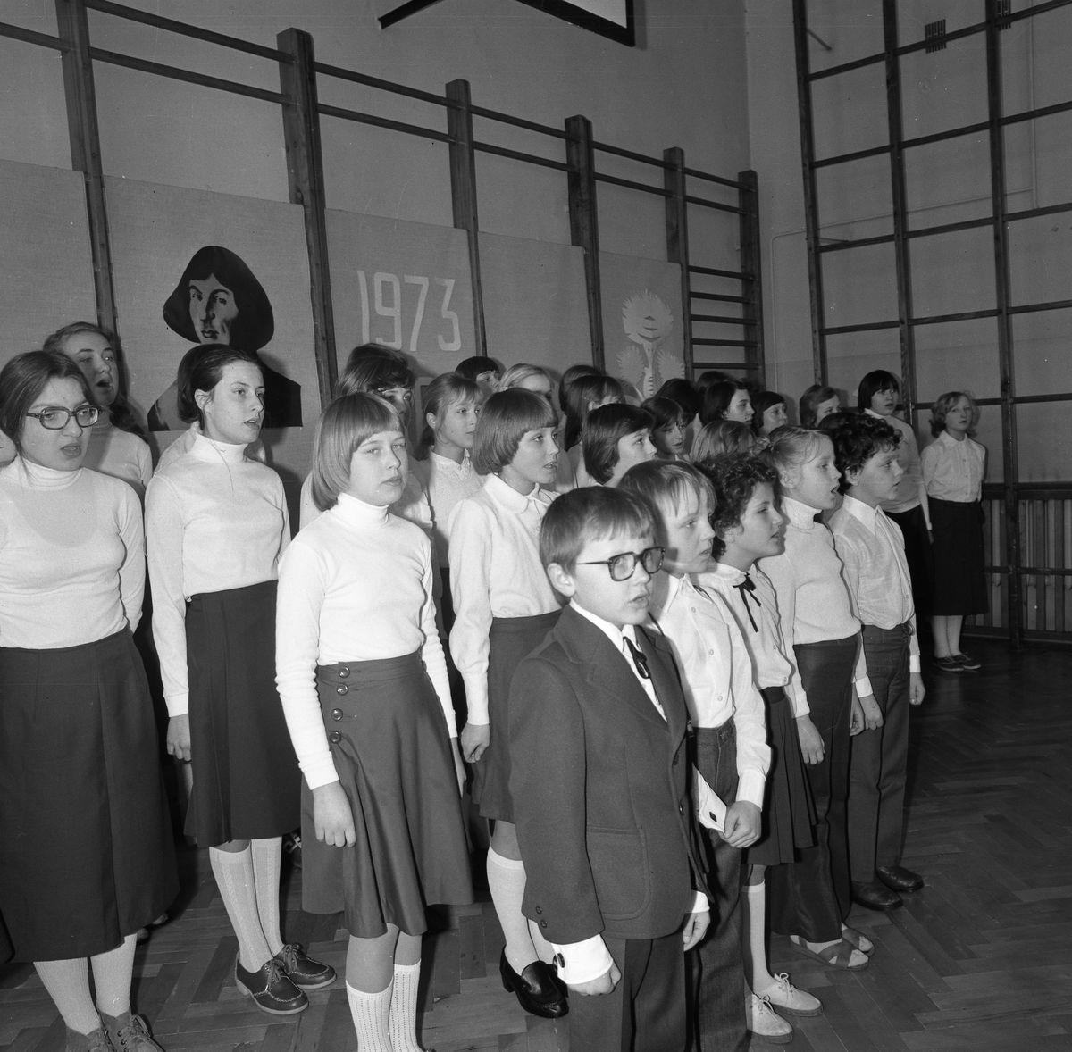 Święto Szkoły Podstawowej nr 3, 1980 r.