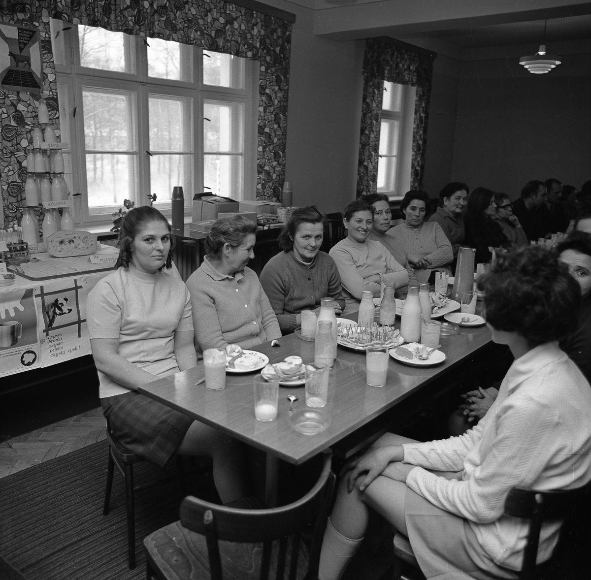 Spotkanie pracowników OSM, 1971 r.