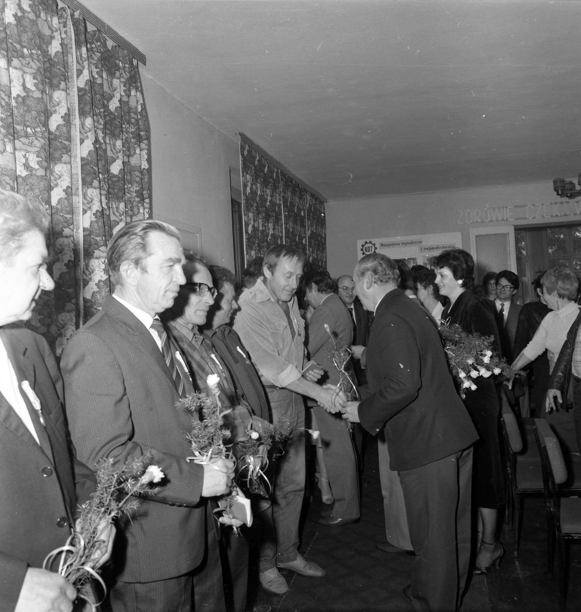 Spotkanie jubileuszowe w Mleczarni, 1985 r. [6]