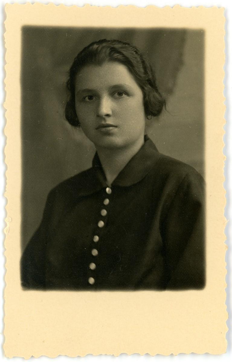 Janina Klimiuk, 1928 r.
