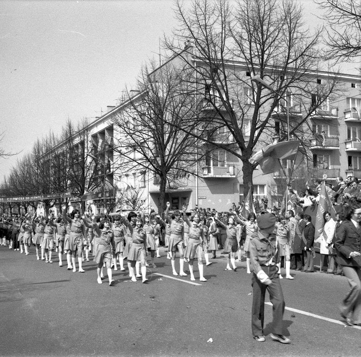 Pochód pierwszomajowy, 1978 r. [5]