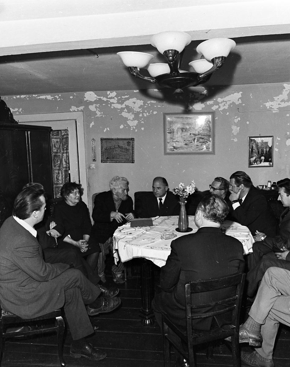 Spotkanie z Albinem Nowickim, 1972 r.