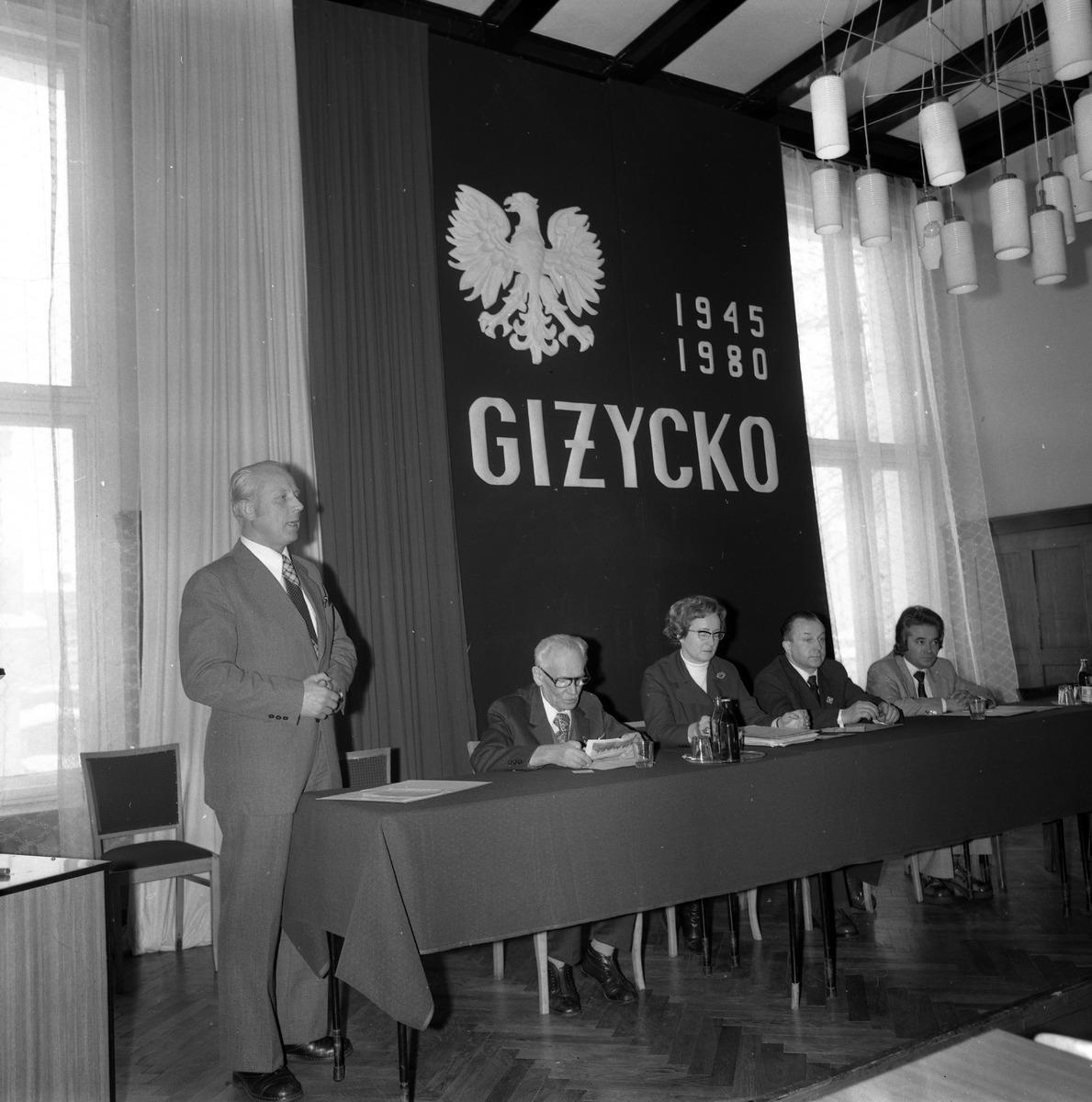 Zjazd Towarzystwa Miłośników Ziemi Giżyckiej, 1980 r.  [5]