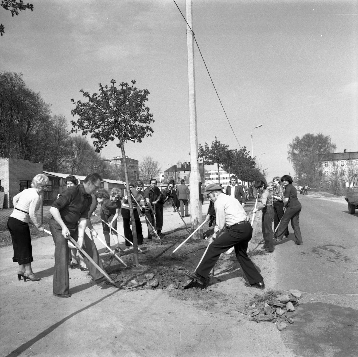 Czyn społeczny, 1980 r.