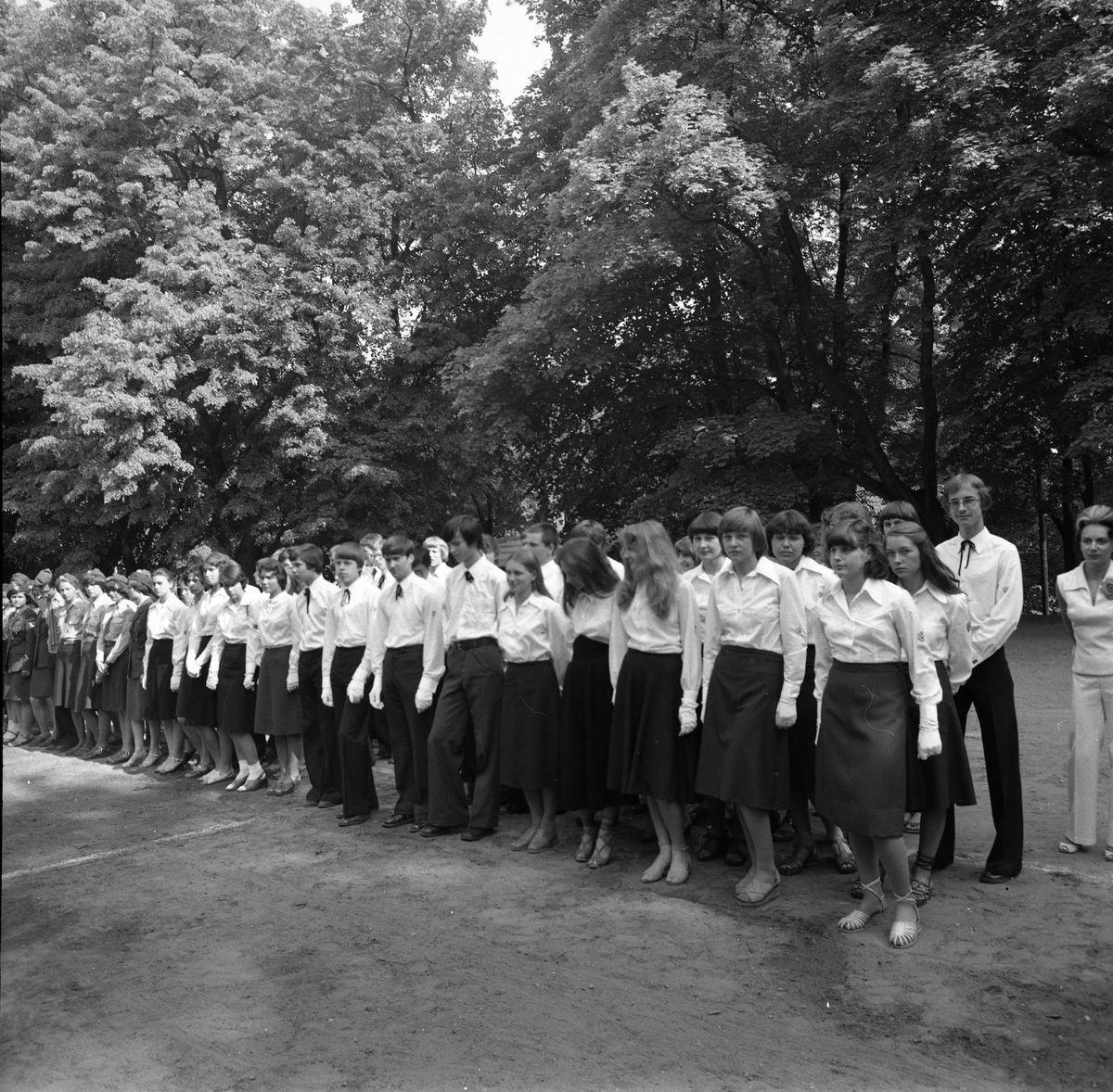 Święto szkoły, 1978 r.
