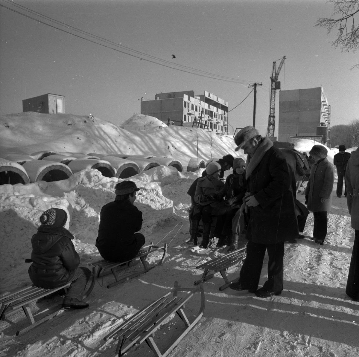 """Kulig pracowników MSI """"ZGODA"""", 1979 r. [1]"""