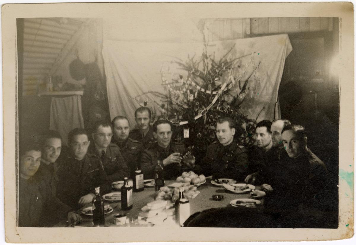 Fotografia żołnierzy 18 Lwowskiego Batalionu Strzelców