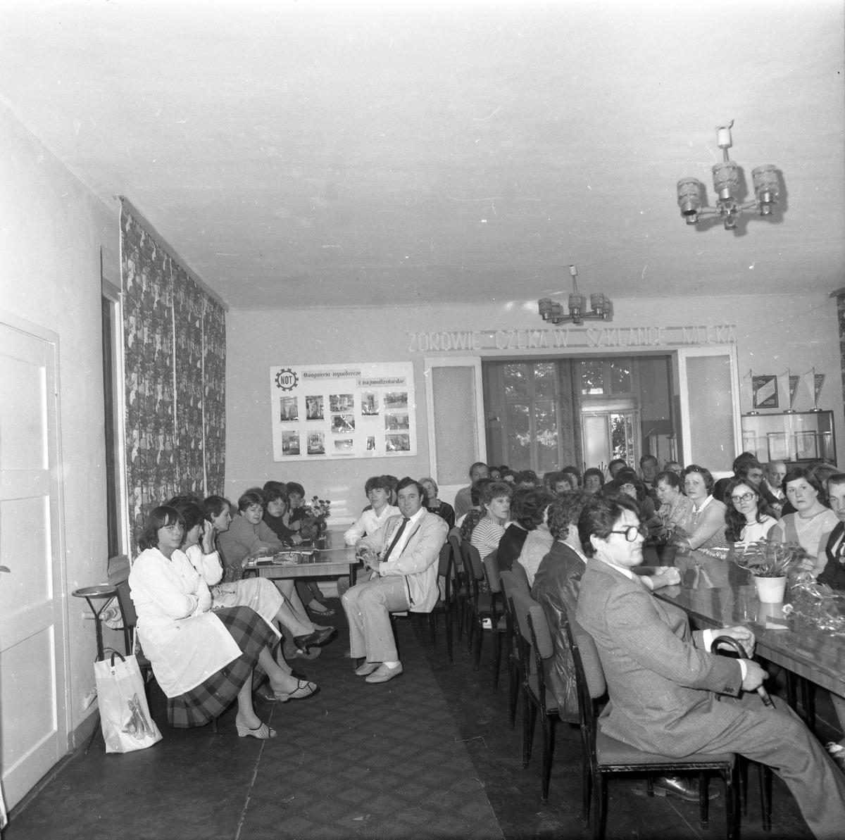 Spotkanie jubileuszowe w Mleczarni, 1985 r. [5]